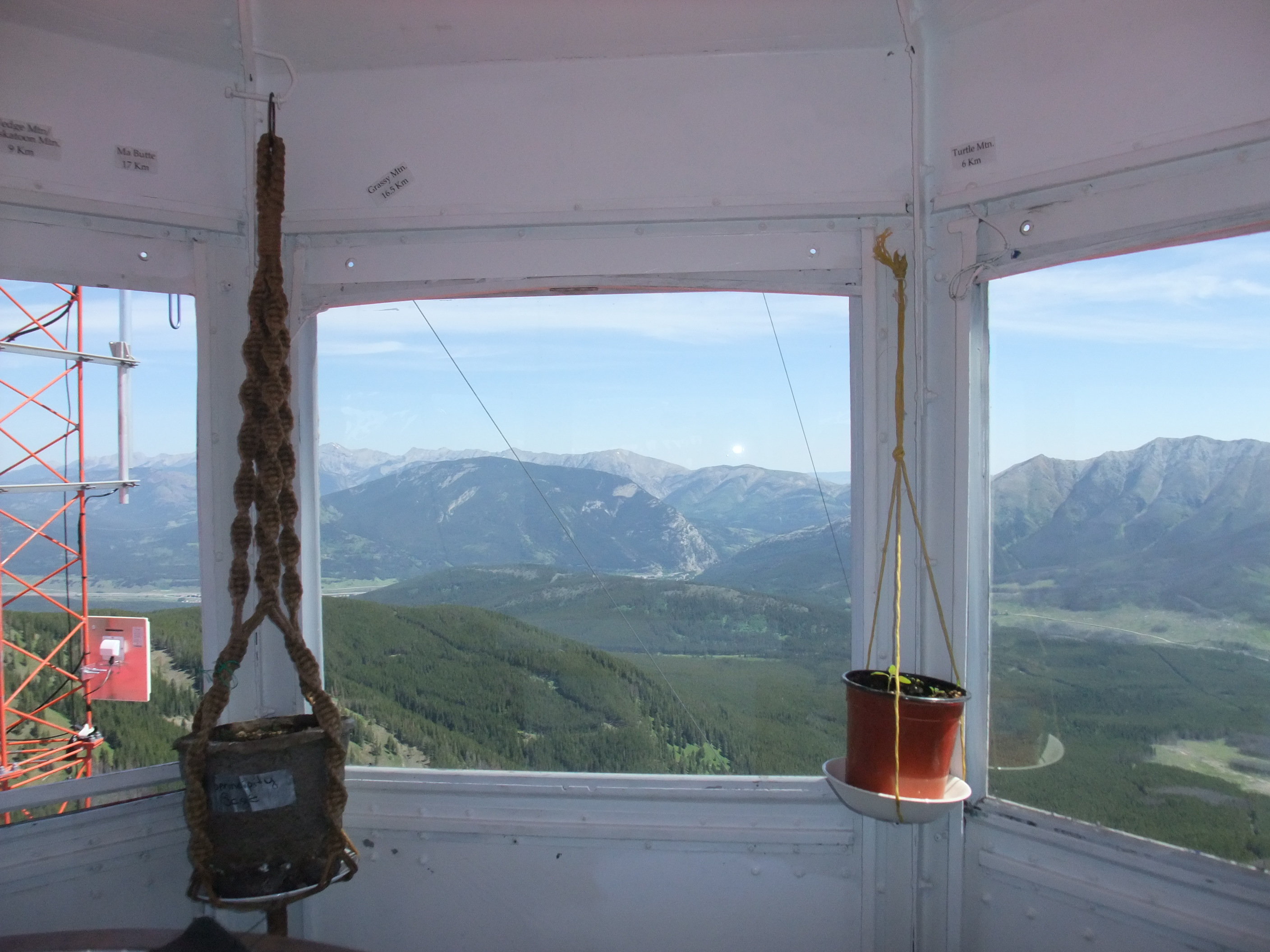 View from the Ironstone Cupola