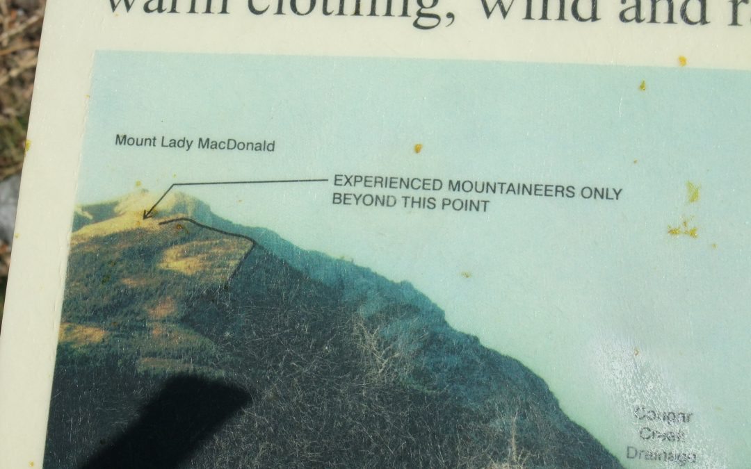 Mount Lady MacDonald – Take 2!