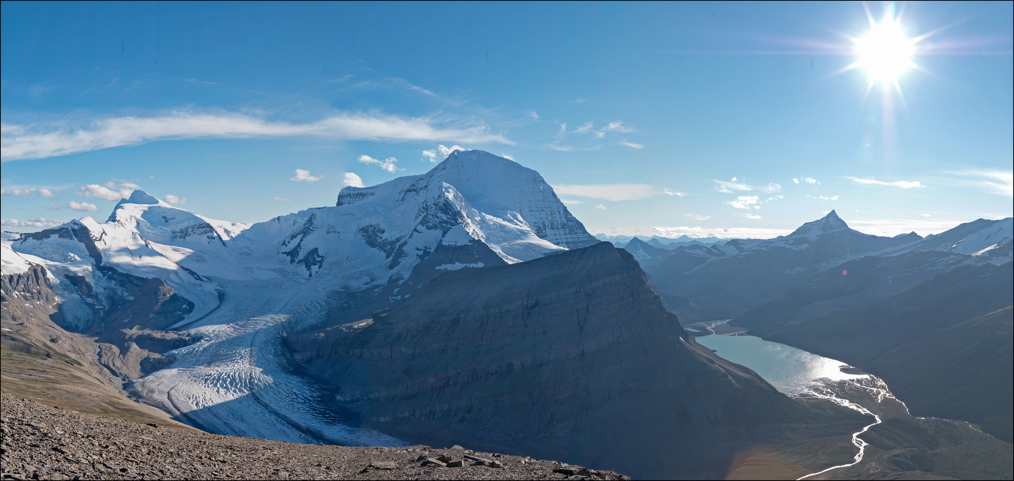 The Robson Glacier: MLP, 2011