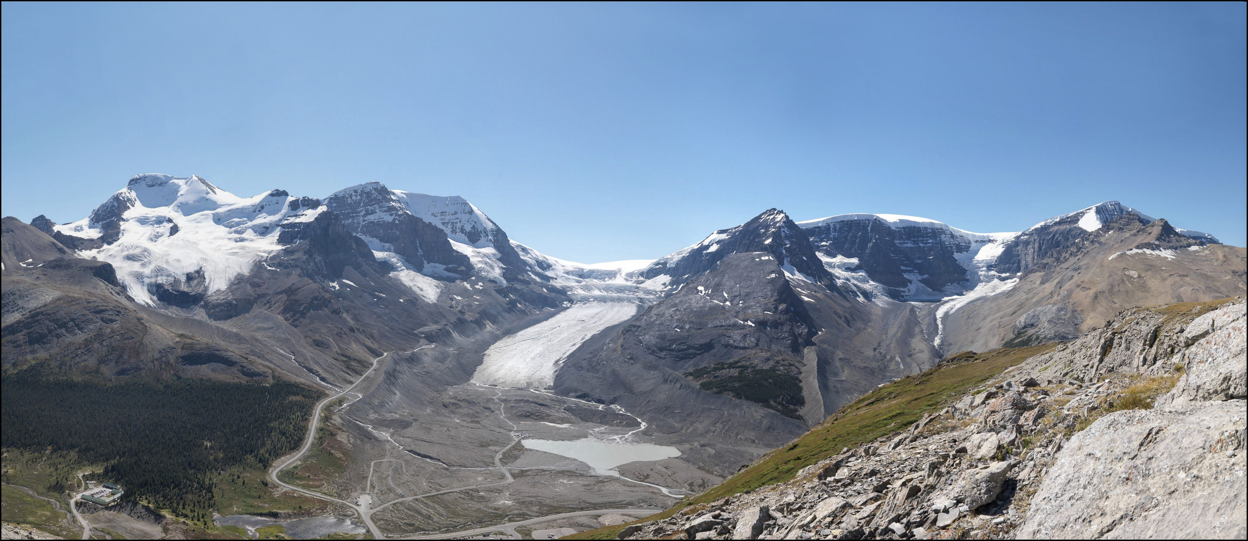 The Athabasca Glacier: MLP, 2011
