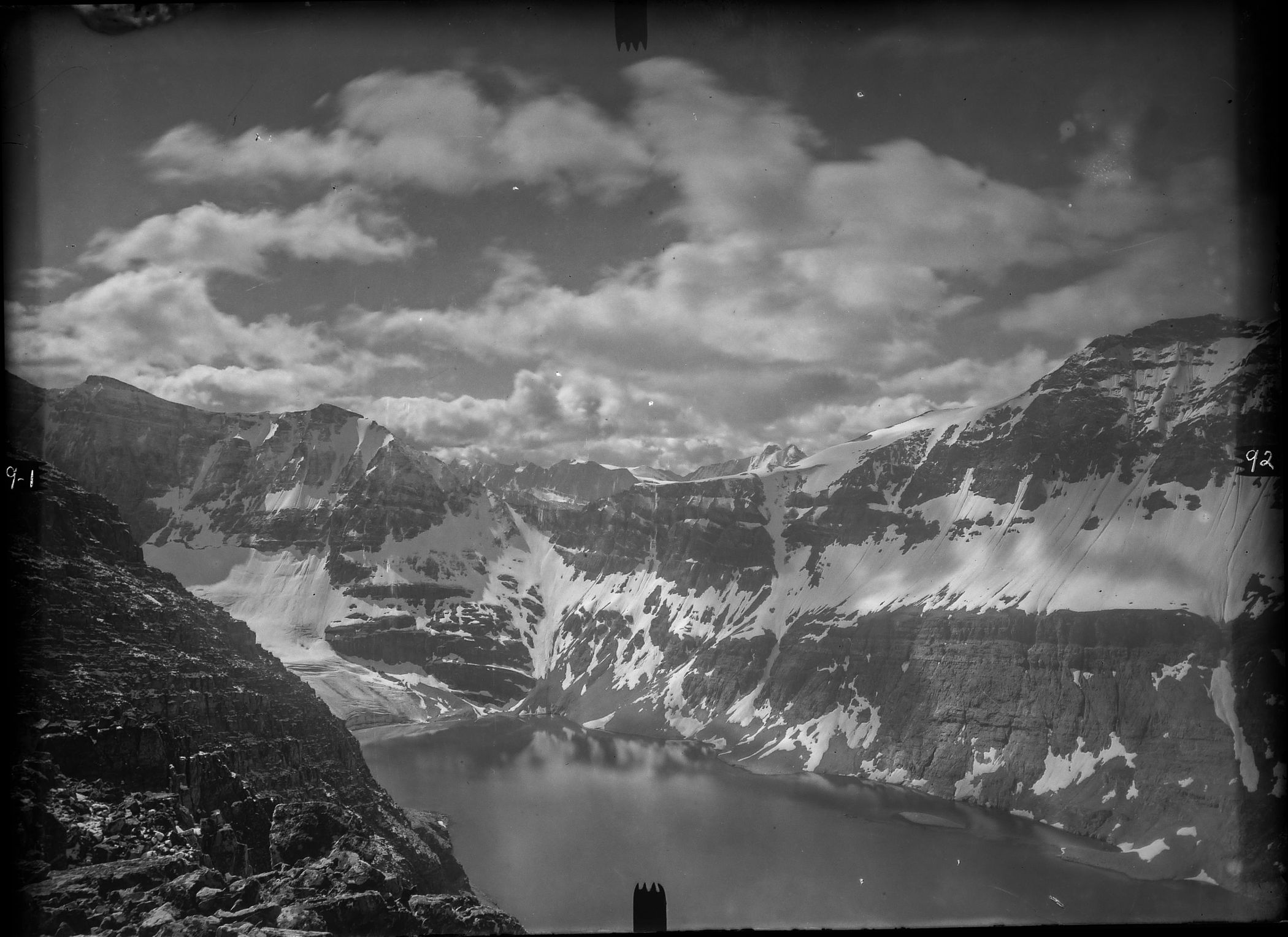 J.J. McArthur, 1892: The view south over Lake McArthur
