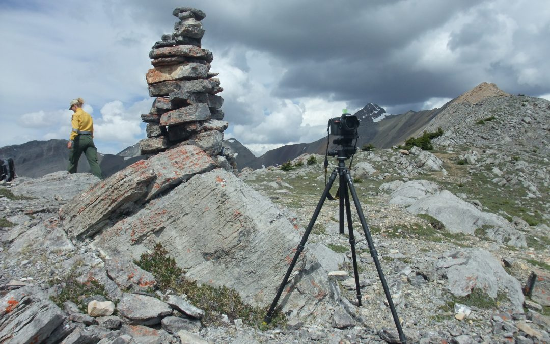 What's up with the piles of rocks on mountaintops?