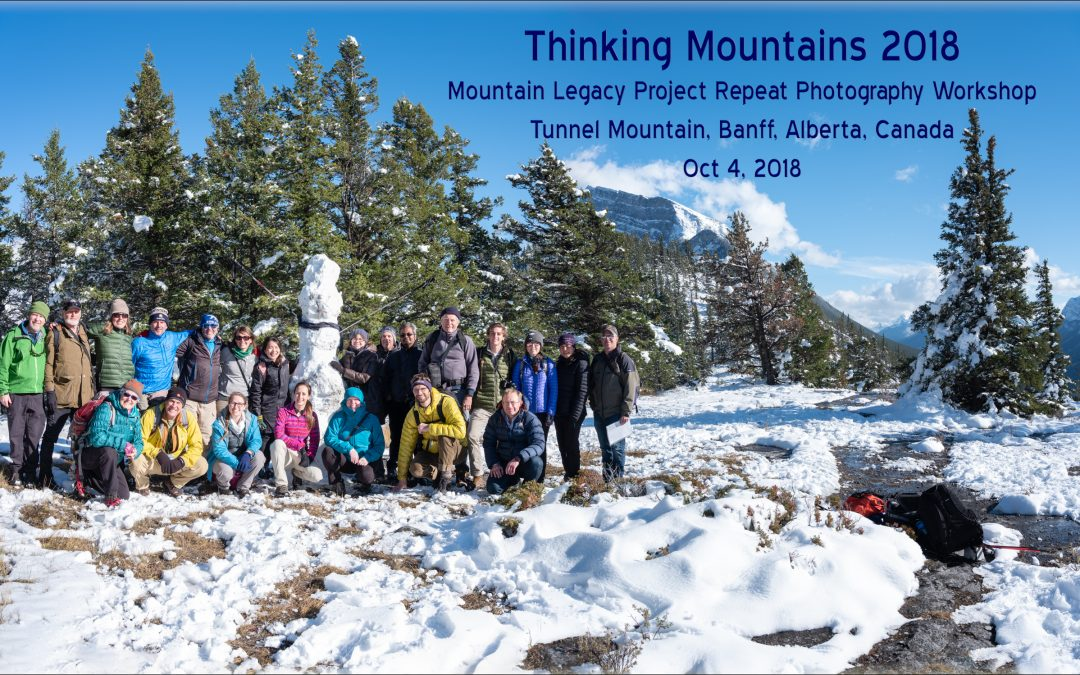Thinking about Thinking Mountains 2018