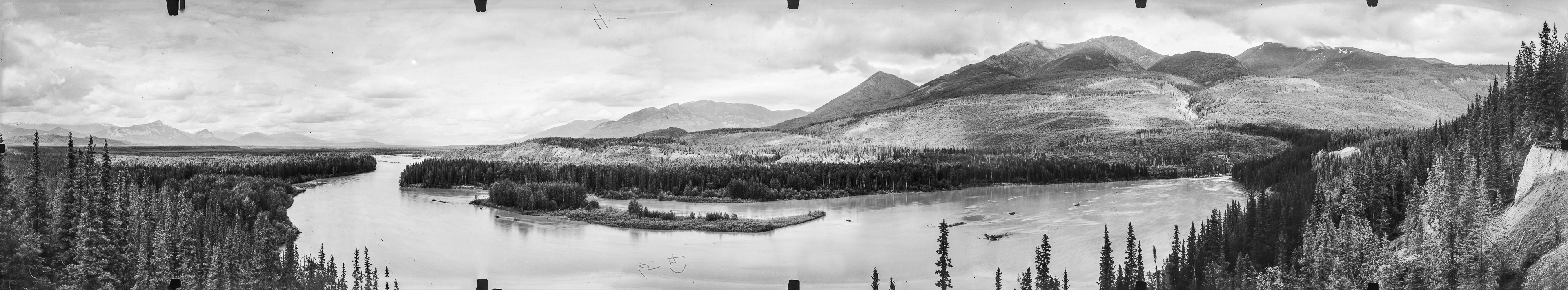 Panorama looking north from Station Cokely Post: A. J. Campbell, 1939