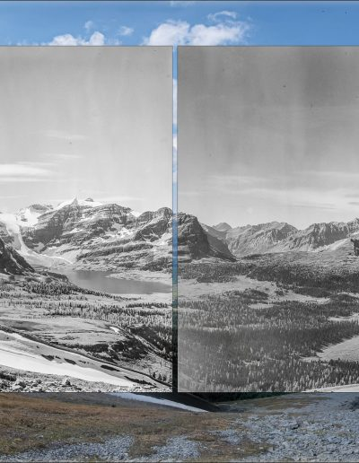 Mt Assiniboine massif - A. O. Wheeler, 1916